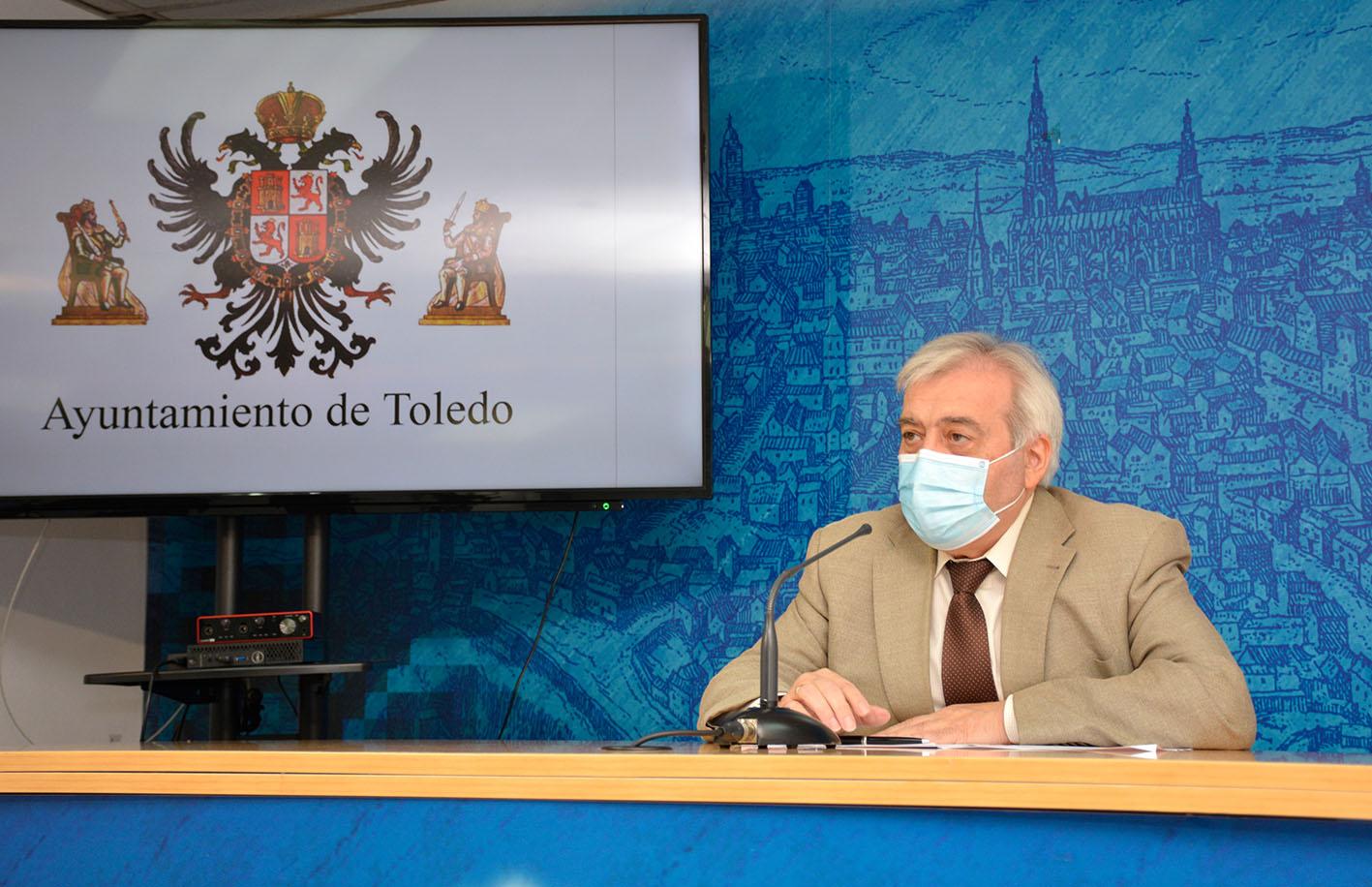 Juanjo Pérez del Pino, concejal de Movilidad y Seguridad Ciudadana de Toledo.