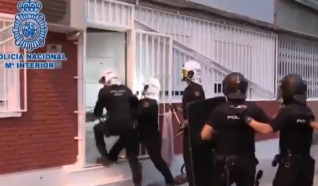 La operación policial ha desarticulado al clan de los Kikos.