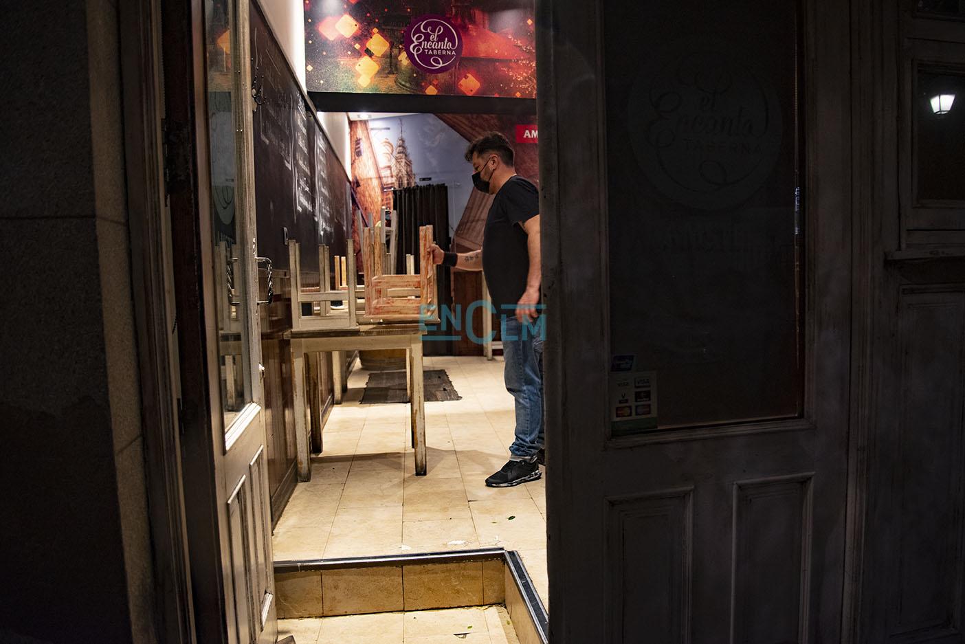 Los interiores de los bares en Toledo permanecerán cerrados hasta, al menos, el próximo 15 de noviembre, mientras esté en nivel 3.