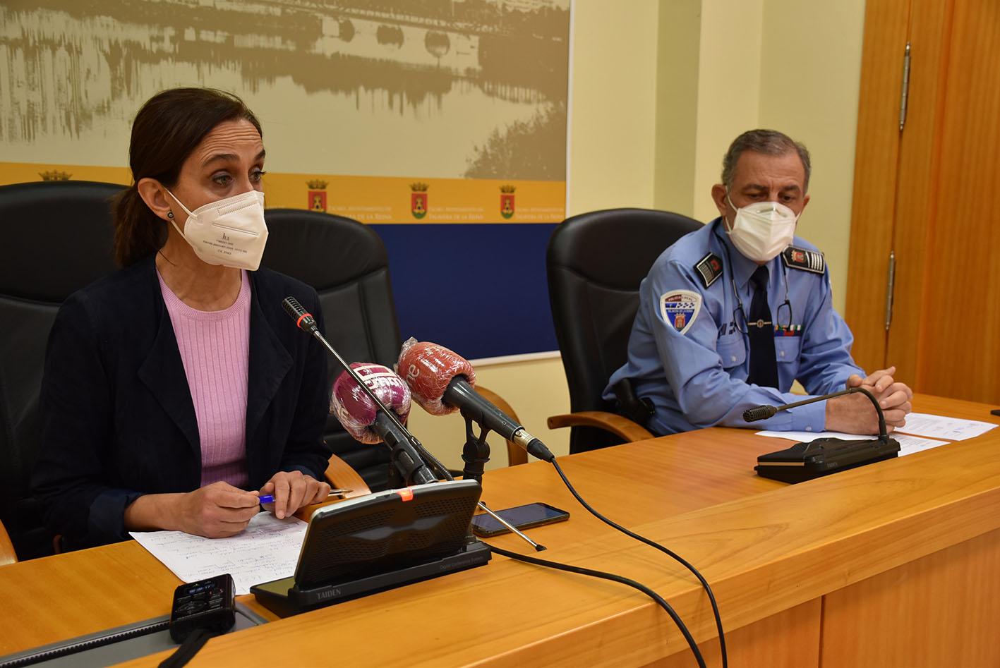 Flora Abellón,concejala de La concejala de Seguridad y Movilidad
