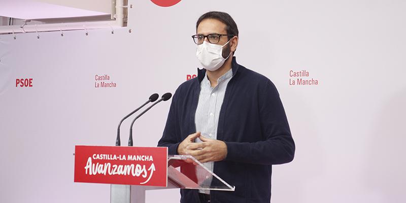 El secretario de Organización del PSOE de CLM, Sergio Gutiérrez.