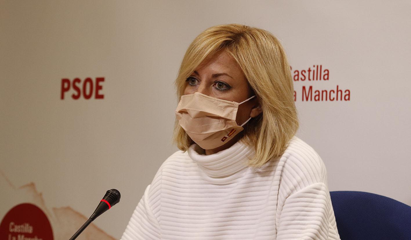 Ana Isabel Abengózar, portavoz del Grupo Parlamentario Socialista en las Cortes de CLM, ha criticado duramente al PP y a Paco Núñez.