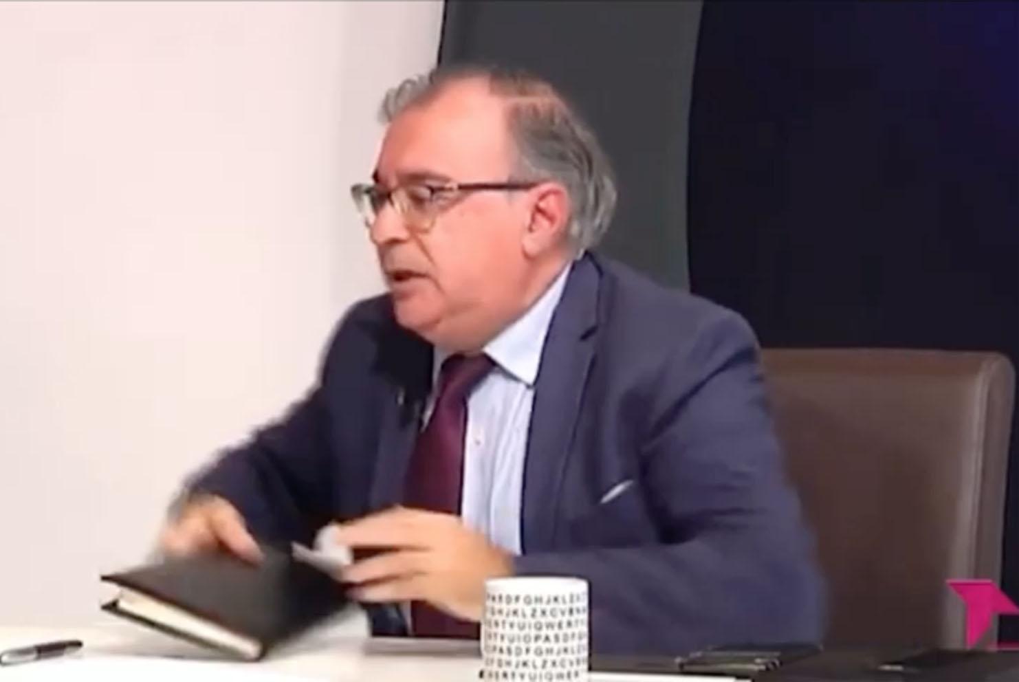 El presidente del Grupo Socialista en las Cortes de Castilla-La Mancha, Fernando Mora.