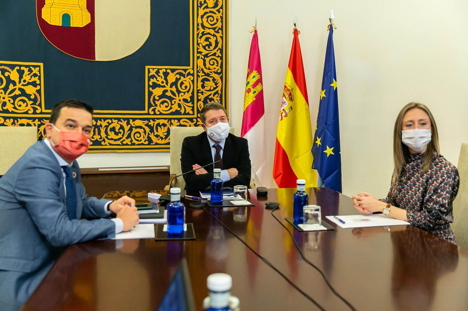 Reunión del Gobierno de Castilla-La Mancha AREV.