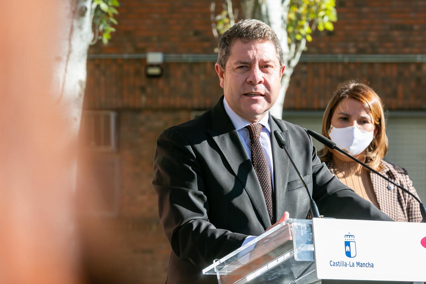 navidad El presidente de Castilla-La Mancha, Emiliano García-Page.