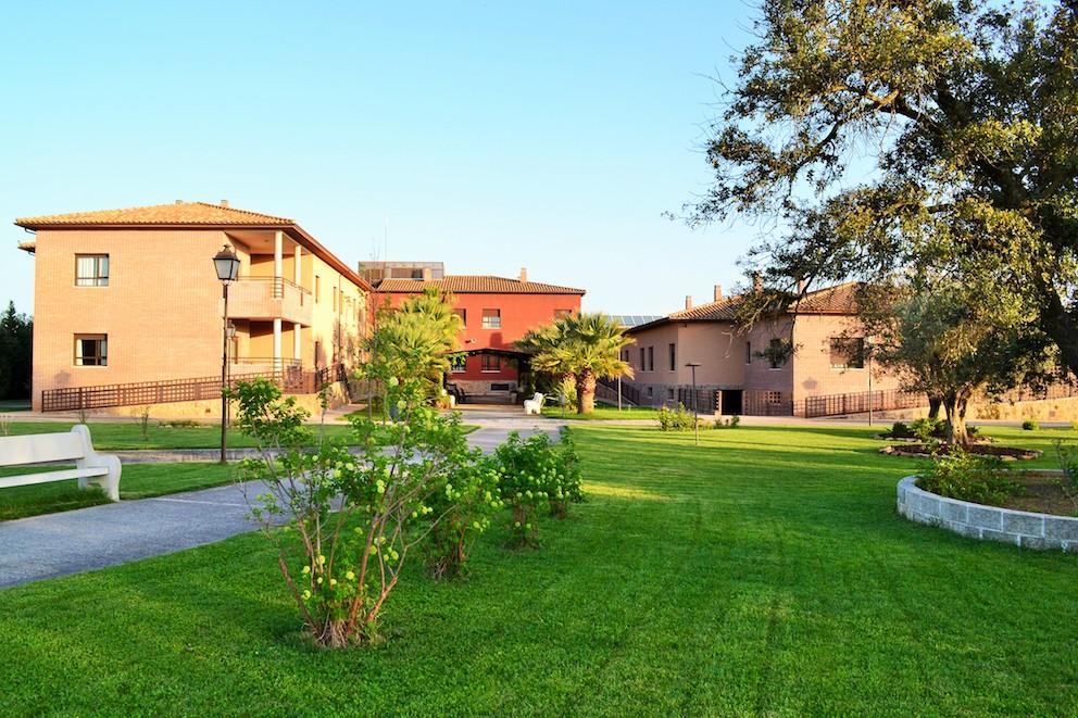 """Residencia de mayores """"El Encinar"""", en Pepino (Toledo). Foto: residenciaelencinar.es"""