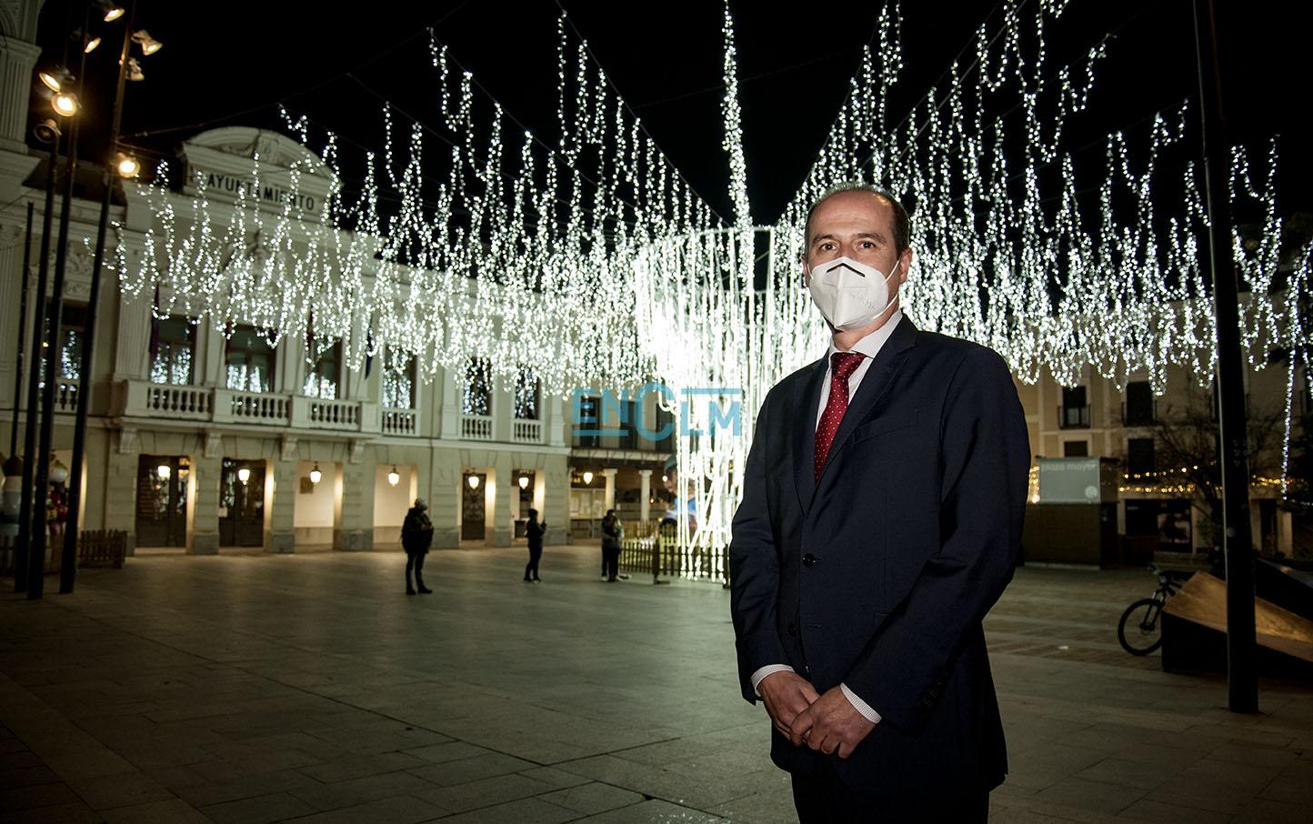 Alberto Rojo, alcalde de Guadalajara.