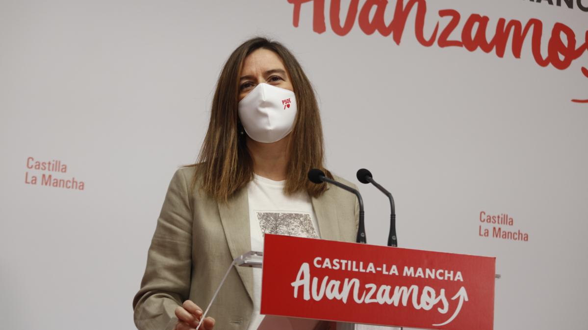 Esther Padilla ha dado a conocer el aplauso del PSOE a la comunidad educativa en Castilla-La Mancha