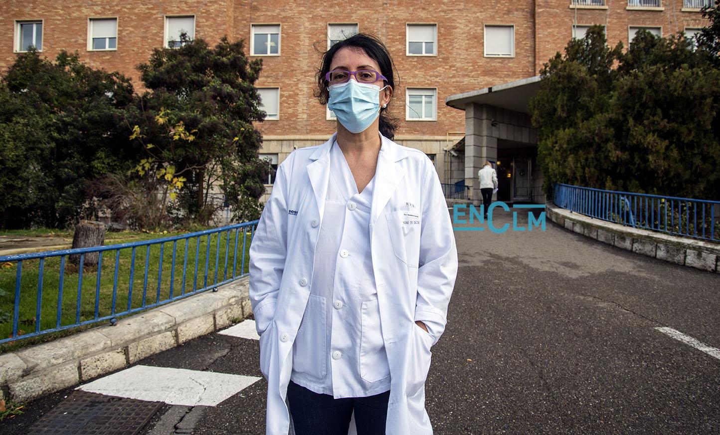Eva Heredero, jefa del servicio de Microbiología del Complejo Hospitalario de Toledo.