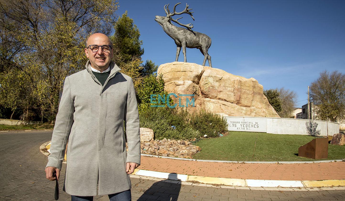 Jesús Pérez, alcalde de Los Yébenes, en el especial #NavidadconEmociónENCLM.