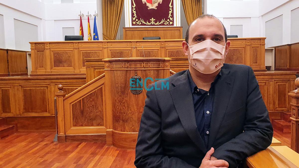 Pablo Bellido, presidente de las Cortes de CLM.