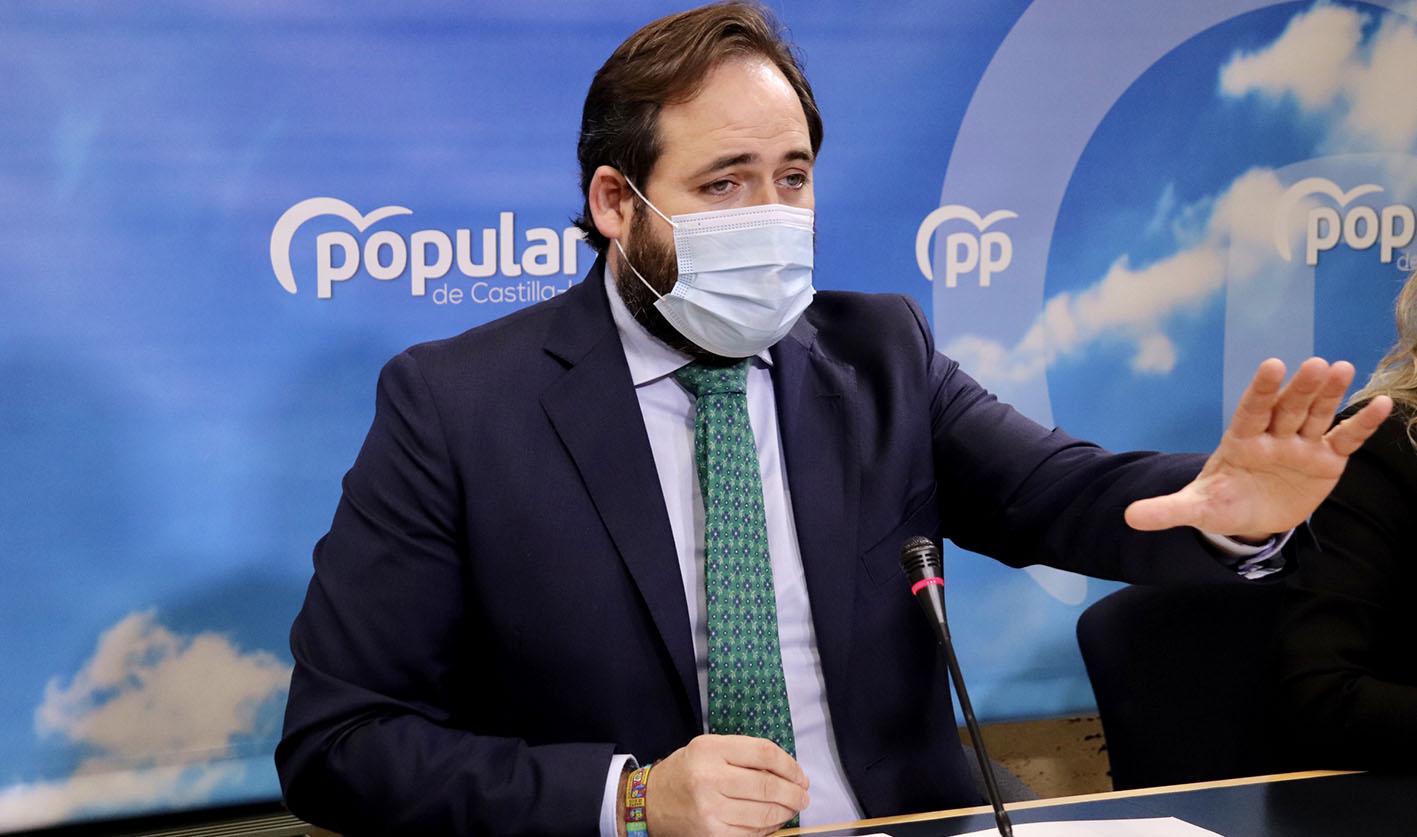 Paco Nüñez, presidente del PP de CLM