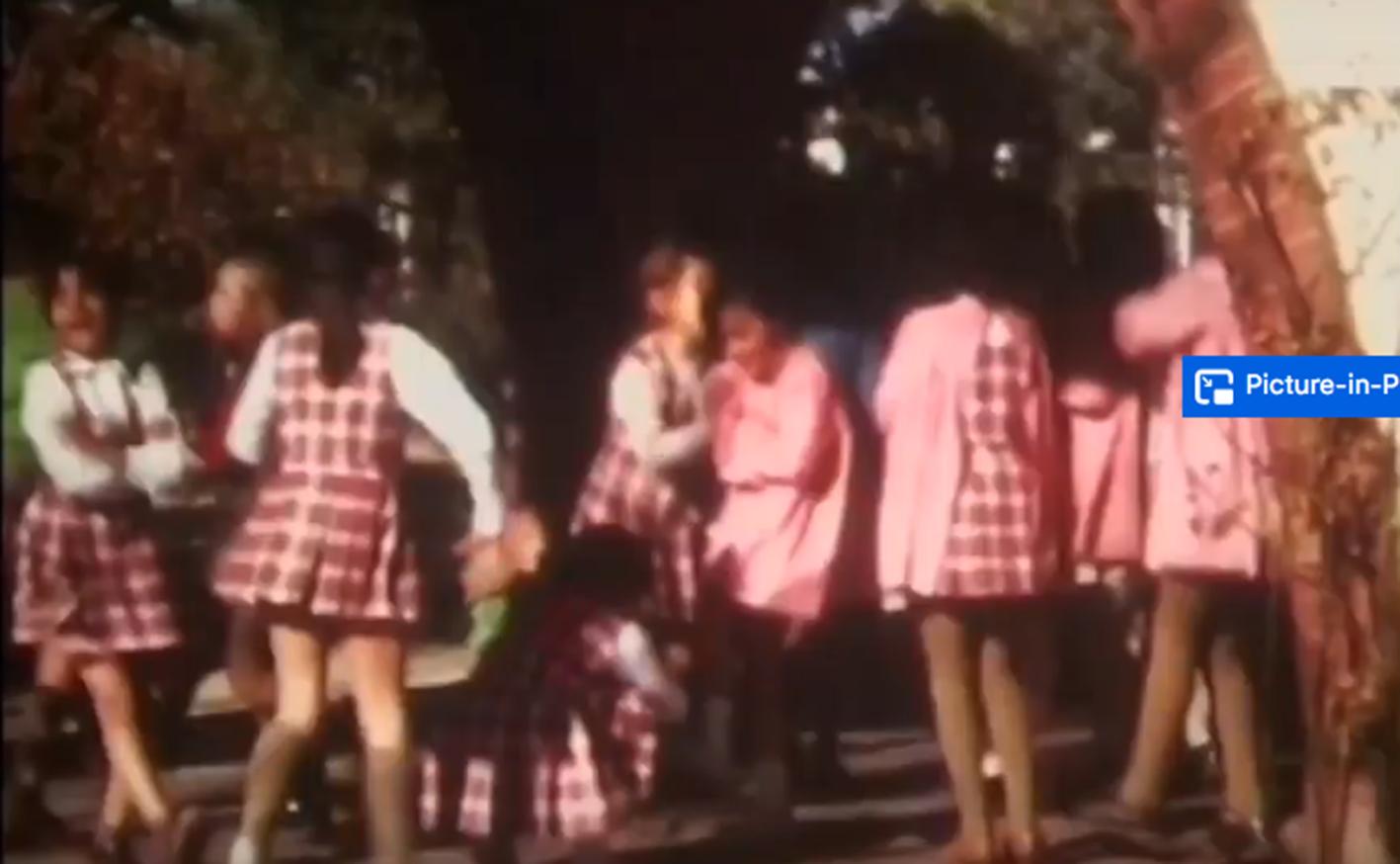 Una de las imágenes del vídeo, entrañable en muchos momentos.