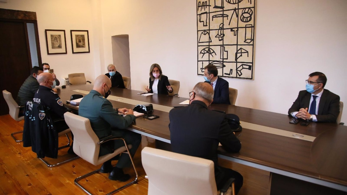 Reunión de la Junta de Seguridad Local.