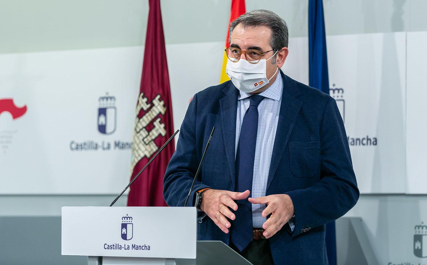 Jesús Fernández Sanz, consejero de Sanidad.