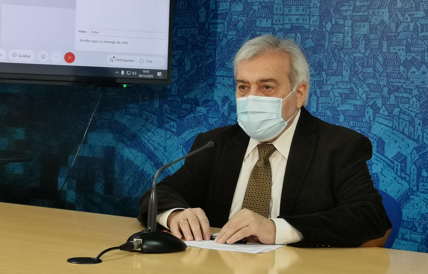 Juanjo Pérez del Pino sigue apelando a la responsabilidad social para que los contagios por coronavirus no se disparen.