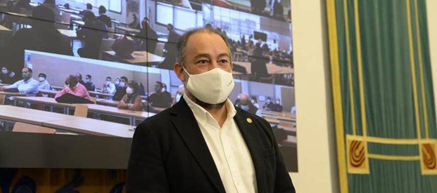 Julián Garde, nuevo rector de la UCLM.