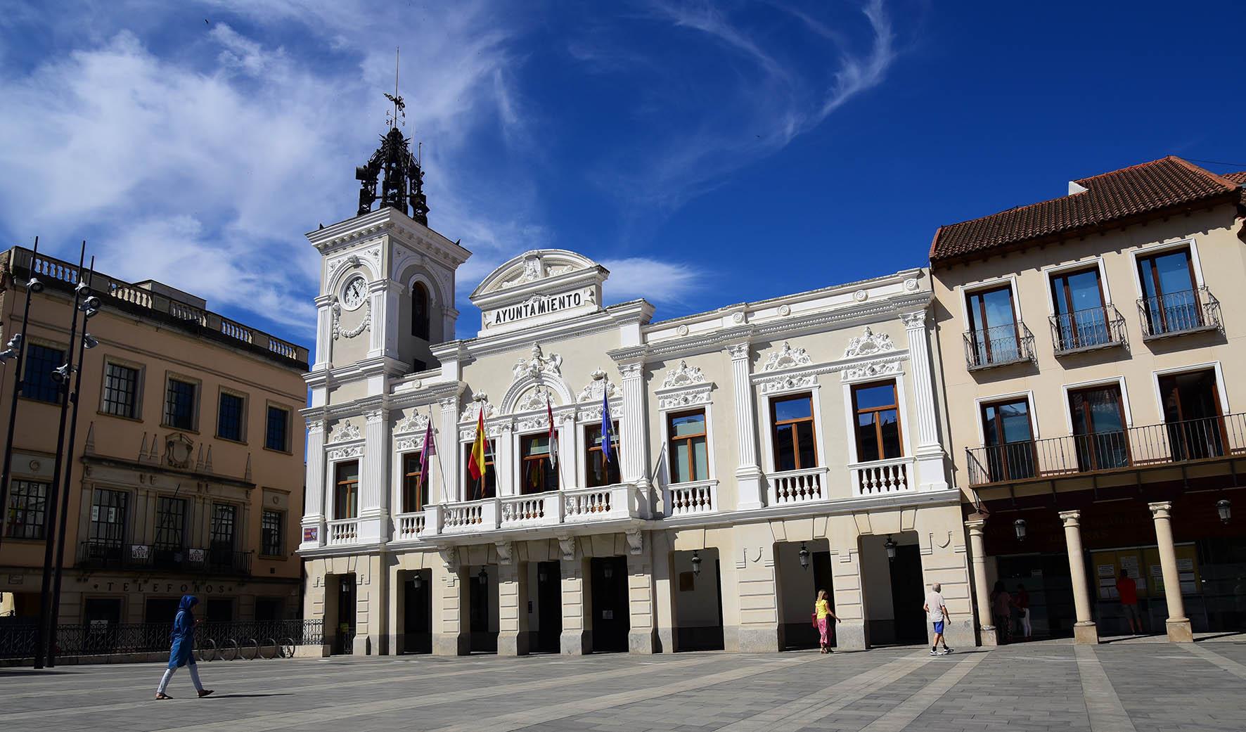 Imagen del Ayuntamiento de Guadalajara.