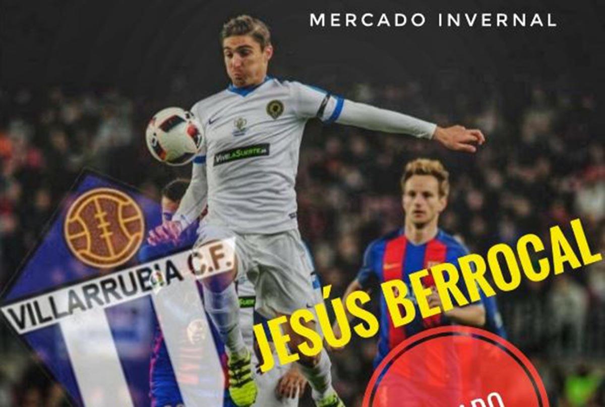 Jesús Berrocal, nuevo jugador del Formac Villarrubia