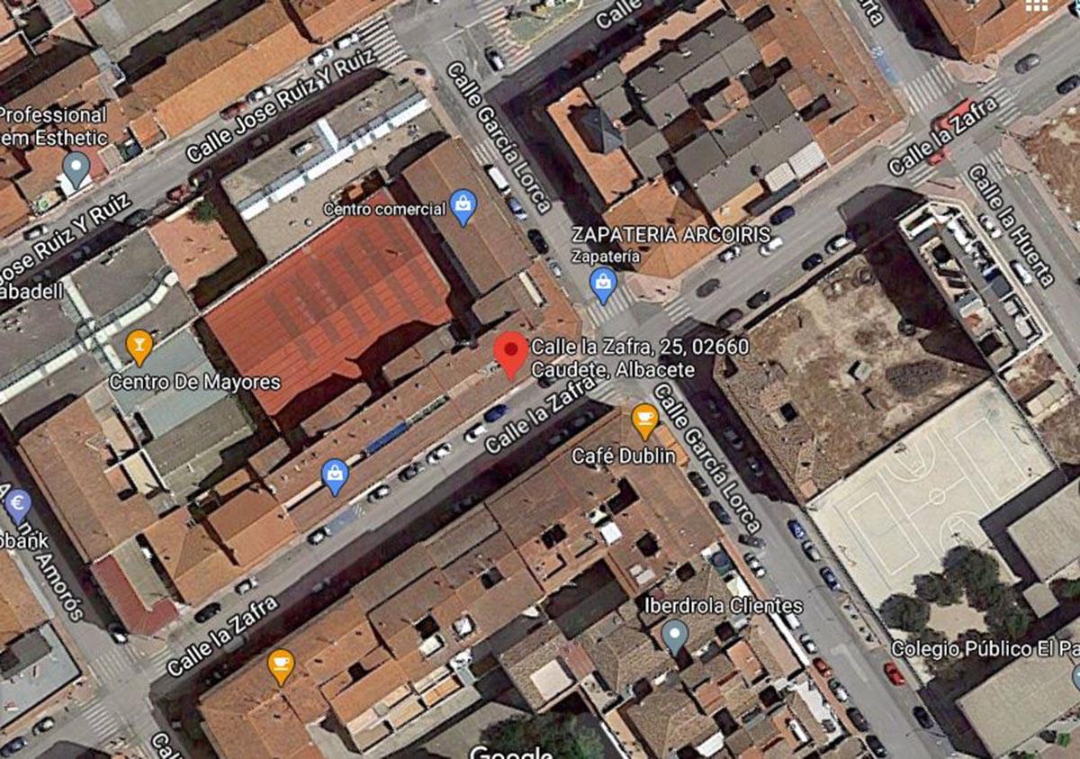 El despacho receptor está en la calle Zafra, 25, de Caudete