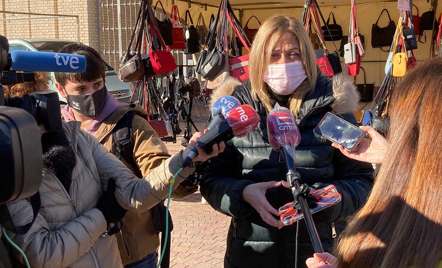 Carmen Picazo, líder de Ciudadanos, en Castilla-La Mancha.