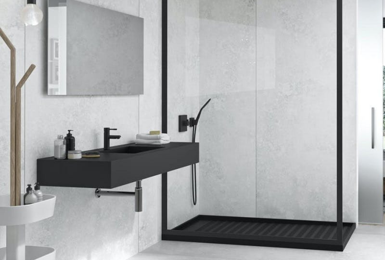 Elegancia y atemporalidad en los cuartos de baño.