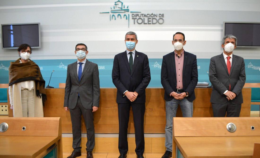 Responsables de la Diputación de Toledo