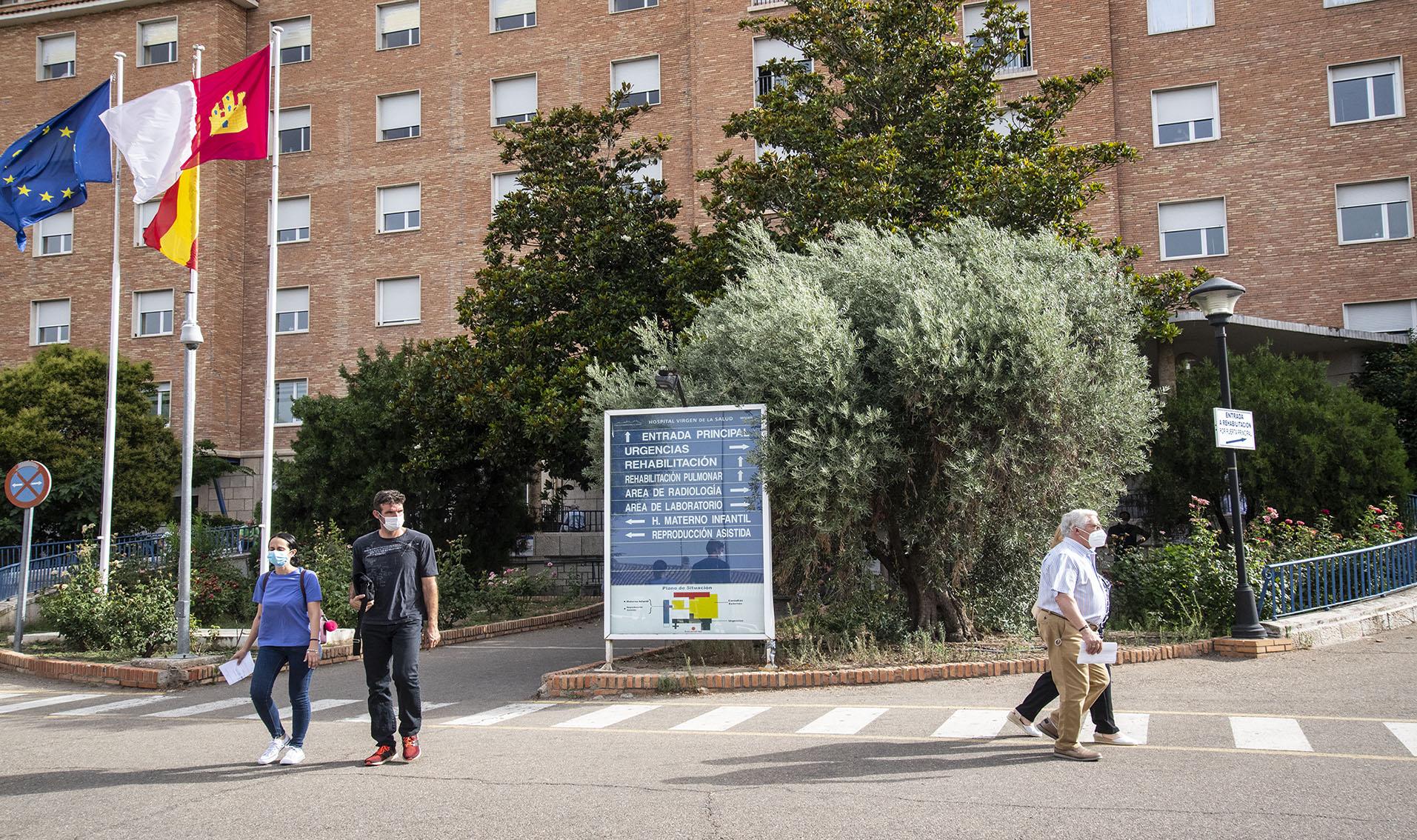 Hospital Virgen de la Salud, en Toledo.