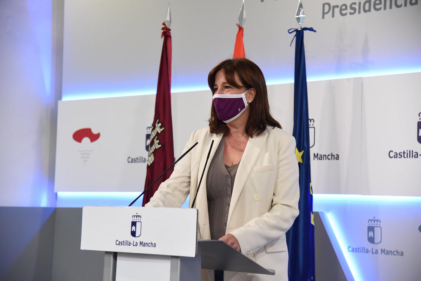 Blanca Fernéndez, portavoz del Gobierno de Castilla-La Mancha.