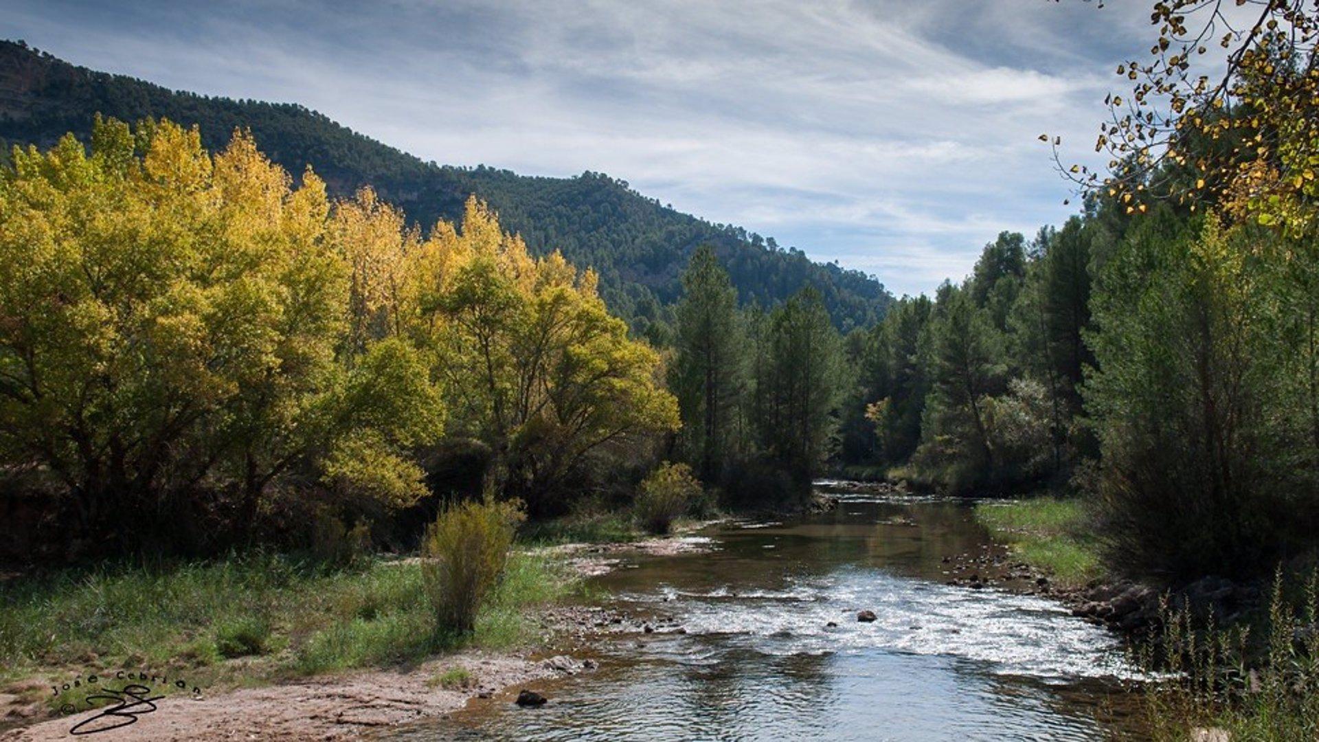 Río Cabriel, en la provincia de Cuenca.