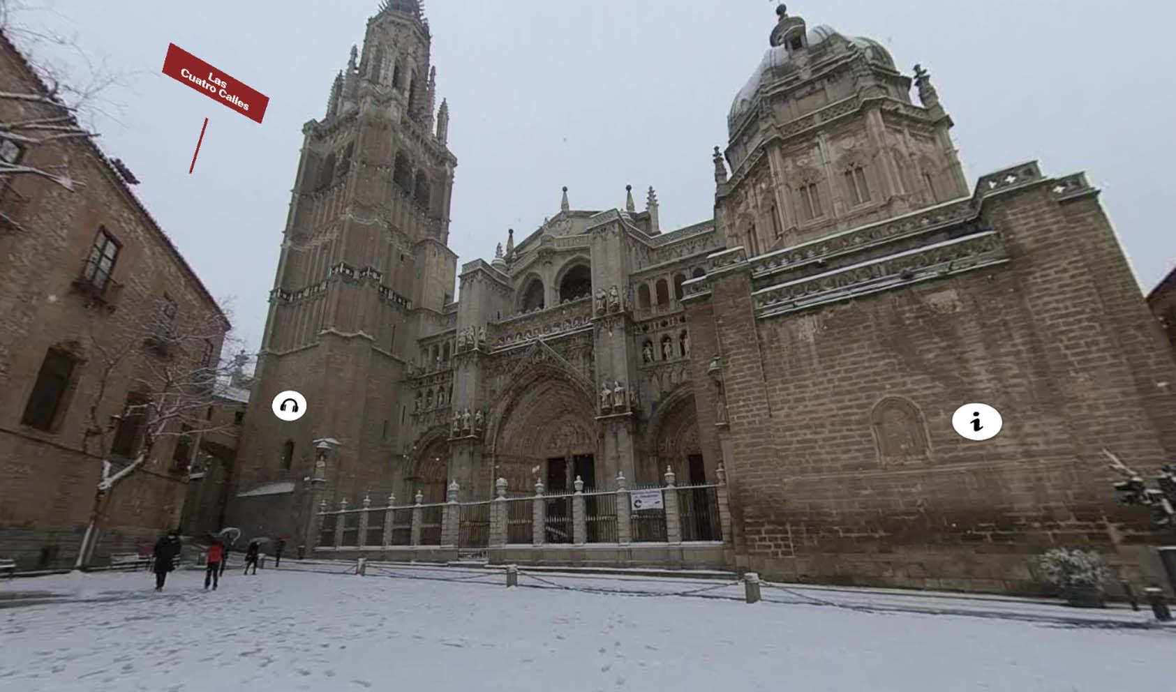 Uno de los espacios que muestra el tour interactivo de Rutas de Toledo.
