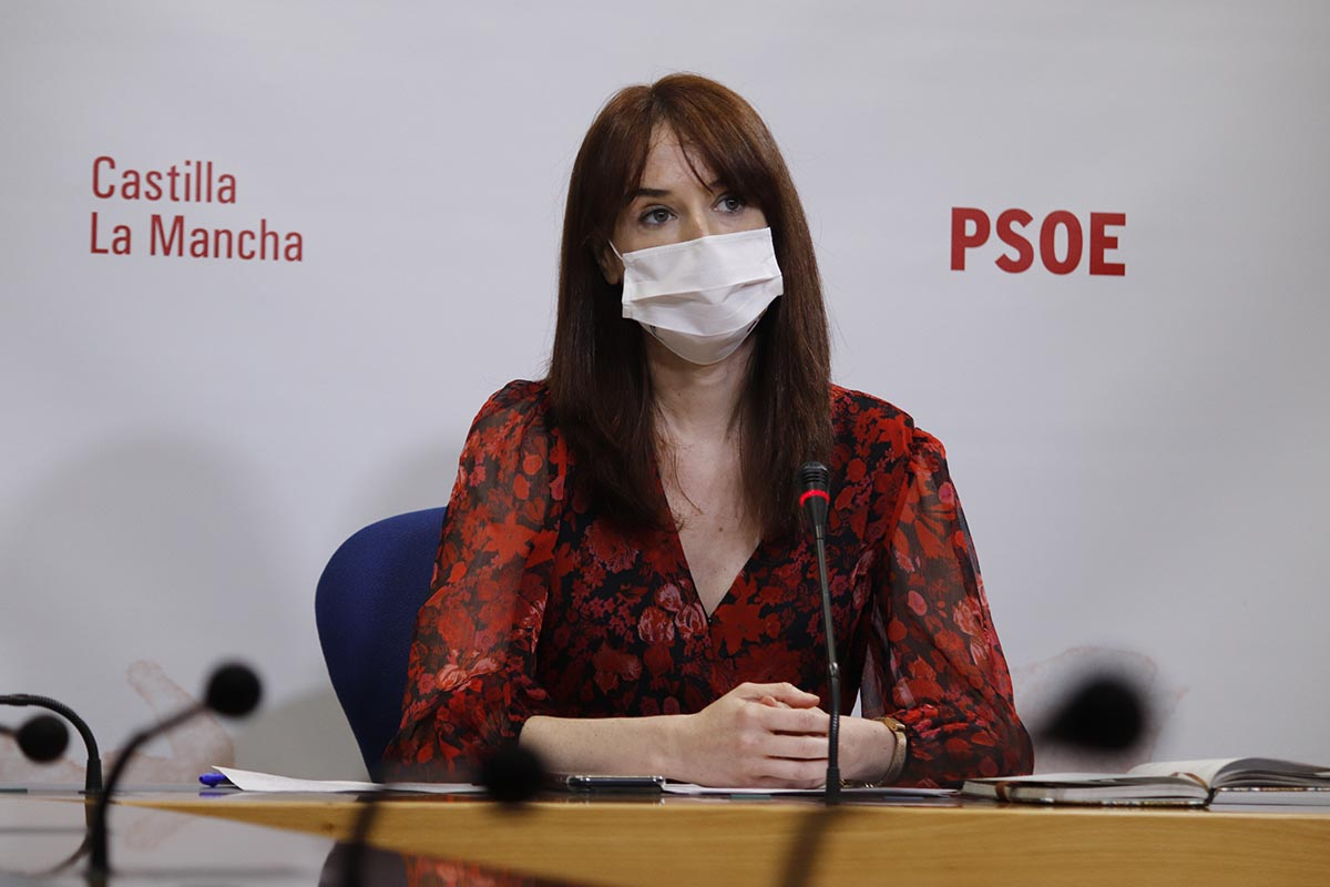 La diputada regional del PSOE Ana López