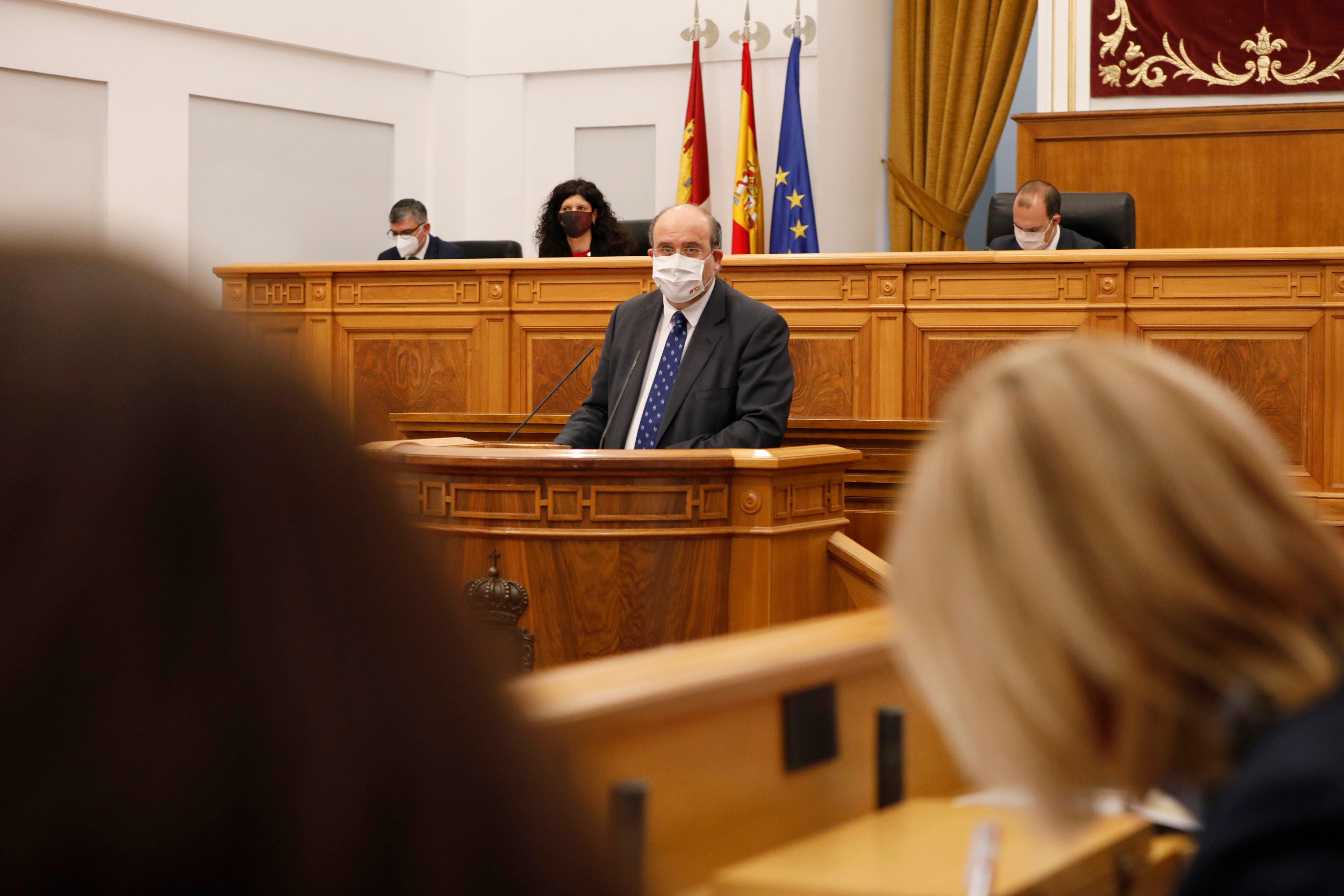 El vicepresidente de Castilla-La Mancha, Emiliano García-Page.