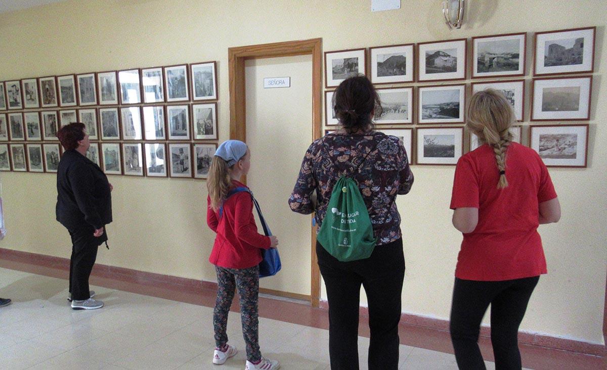 Una de las exposiciones itinerantes de la Diputación de Toledo
