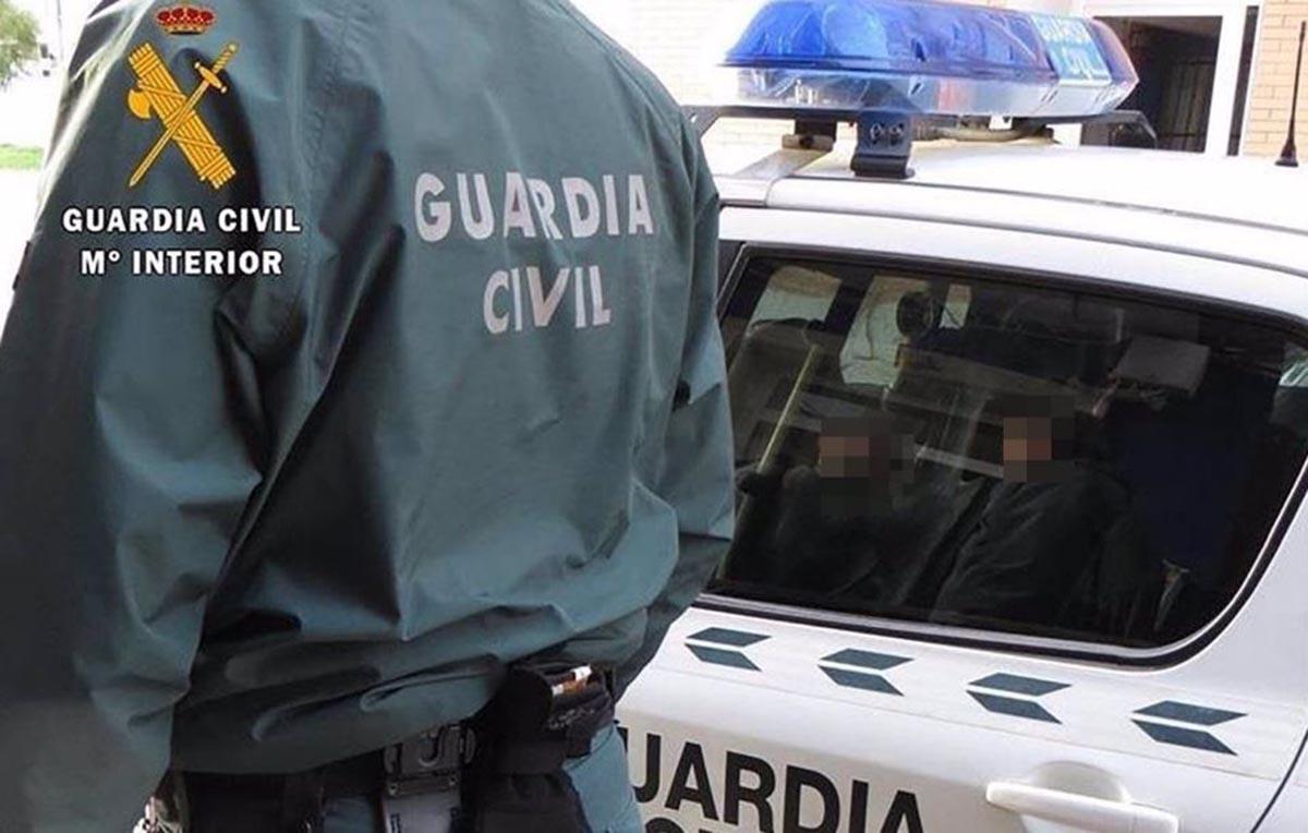 """Operación """"Banderolas"""" de la Guardia Civil"""