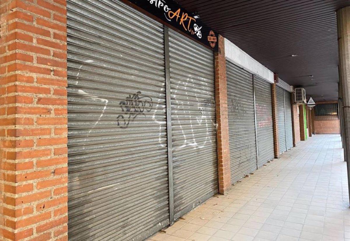 Local cerrado en el Casco Histórico de Toledo