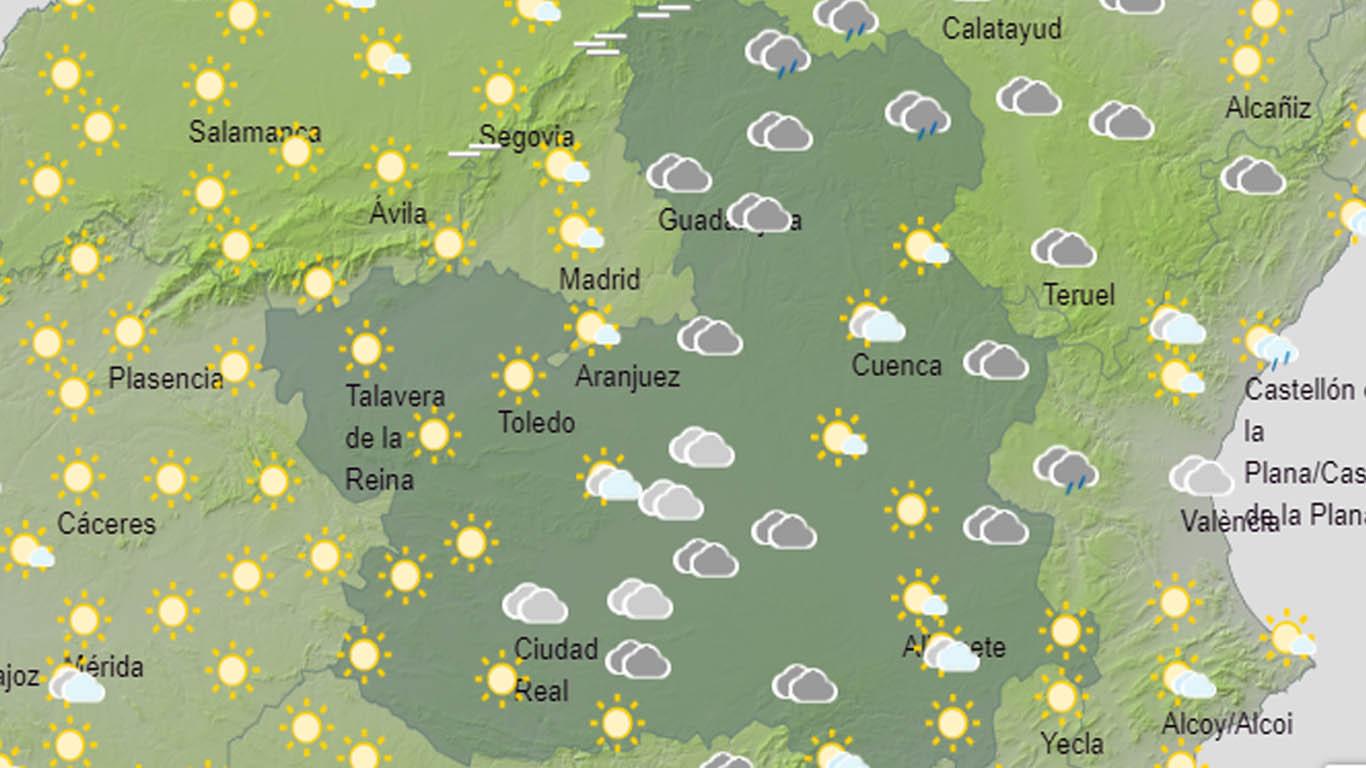 Bajarán las temperaturas en la región.