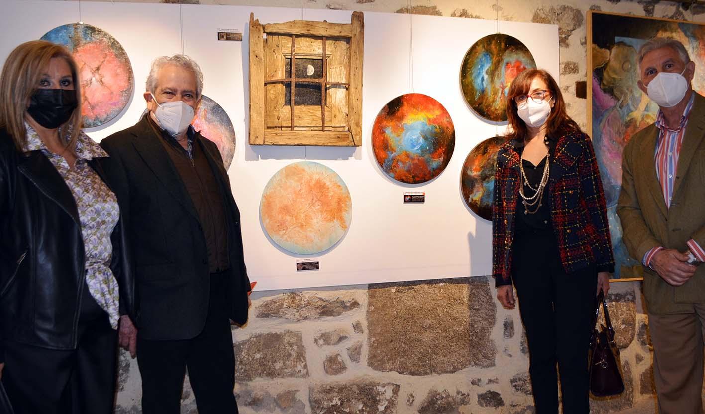 Exposición de Moisés Rojas en Melque