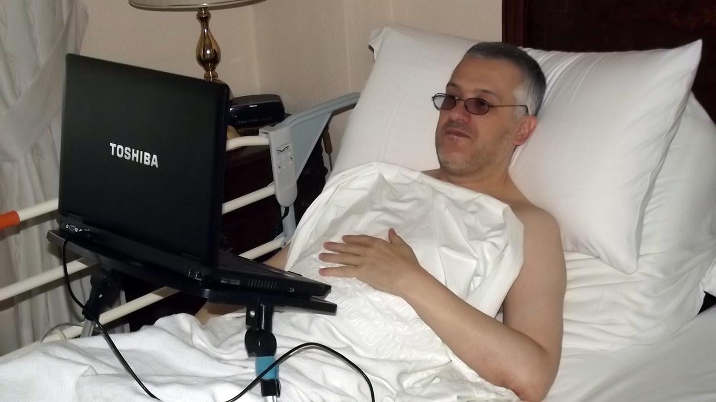 Miguel Ángel Pino, presidente de Asociación de enfermos del síndrome de Shy Drager