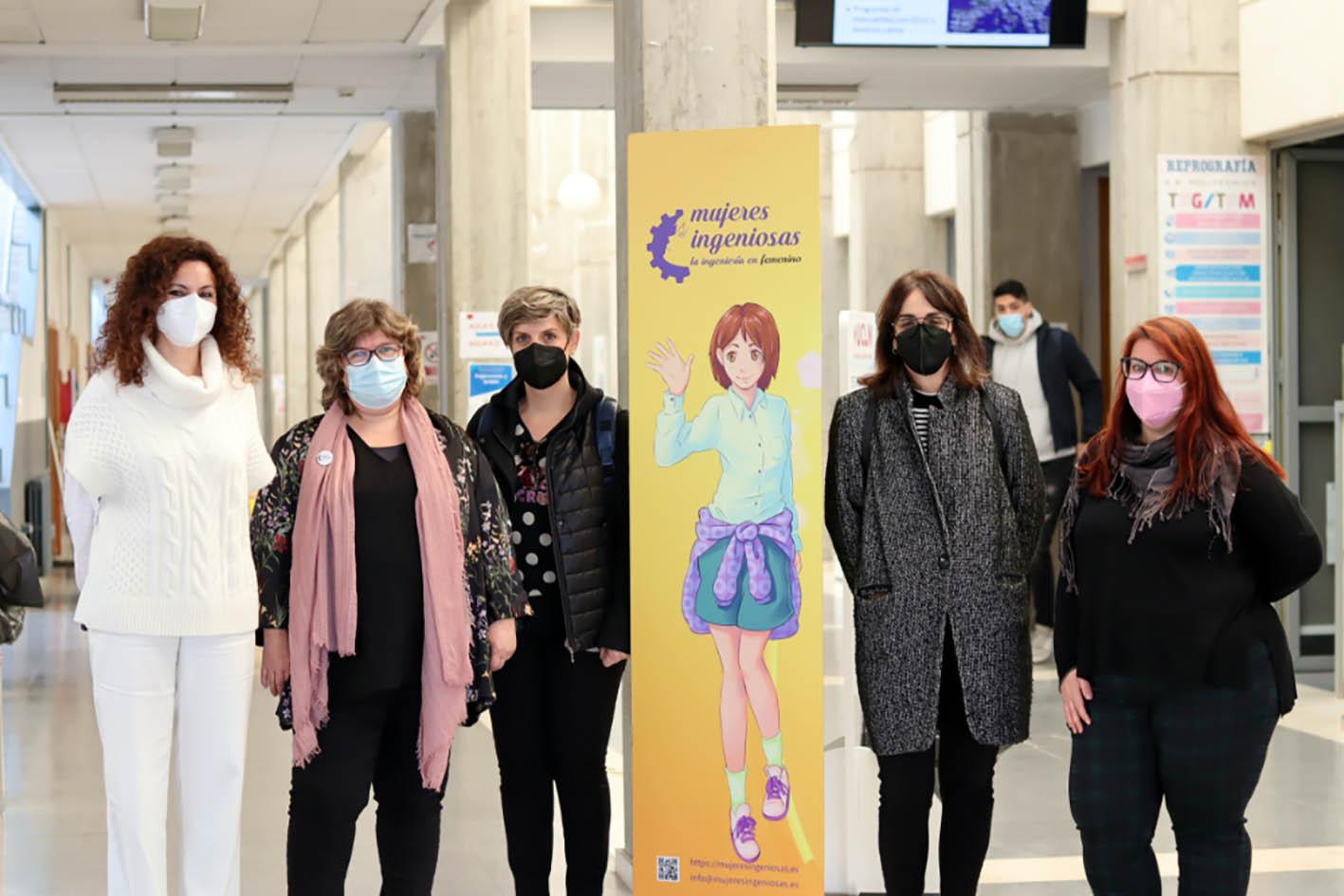 Inauguración de la exposición de Mujeres Ingeniosas en Albacete