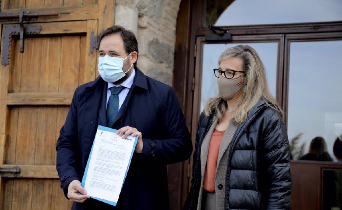 Núñez llevó al Palacio de Fuensalida las medidas populares de relajación de las restricciones