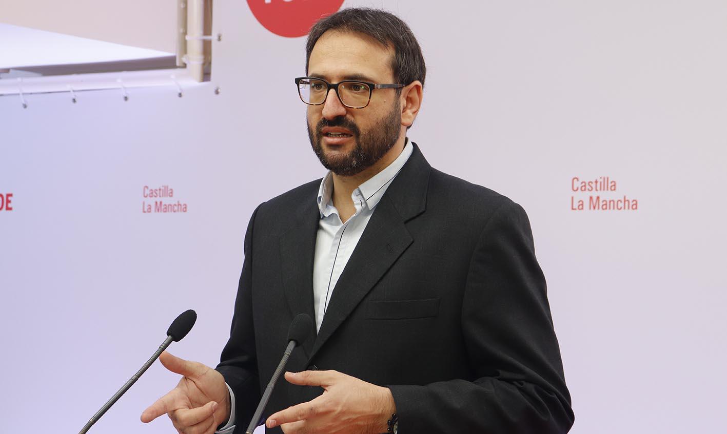 Sergio Gutiérrez, secretario de Organización del PSOE de CLM