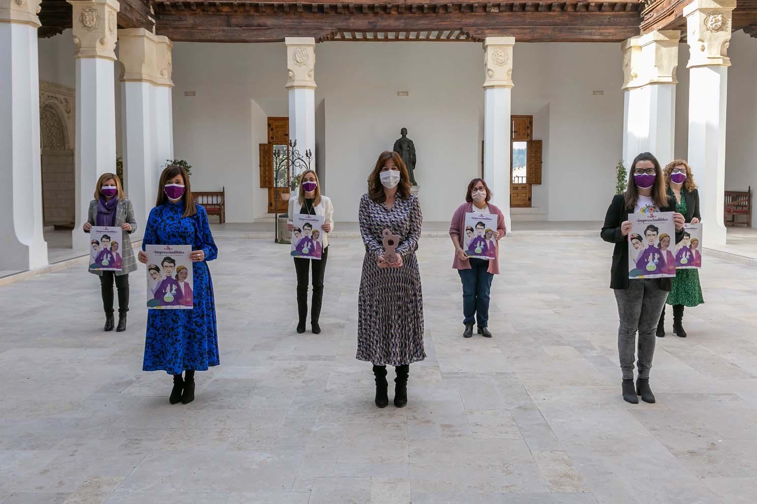 Presentación del acto institucional del Día Internacional de la Mujer.