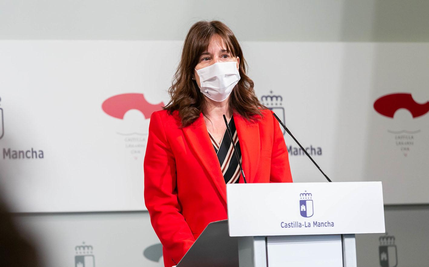 Blanca Fernández, portavoz del Gobierno de CLM.