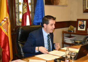 El presidente de la Diputación de Albacete, Santiago Cabañero.