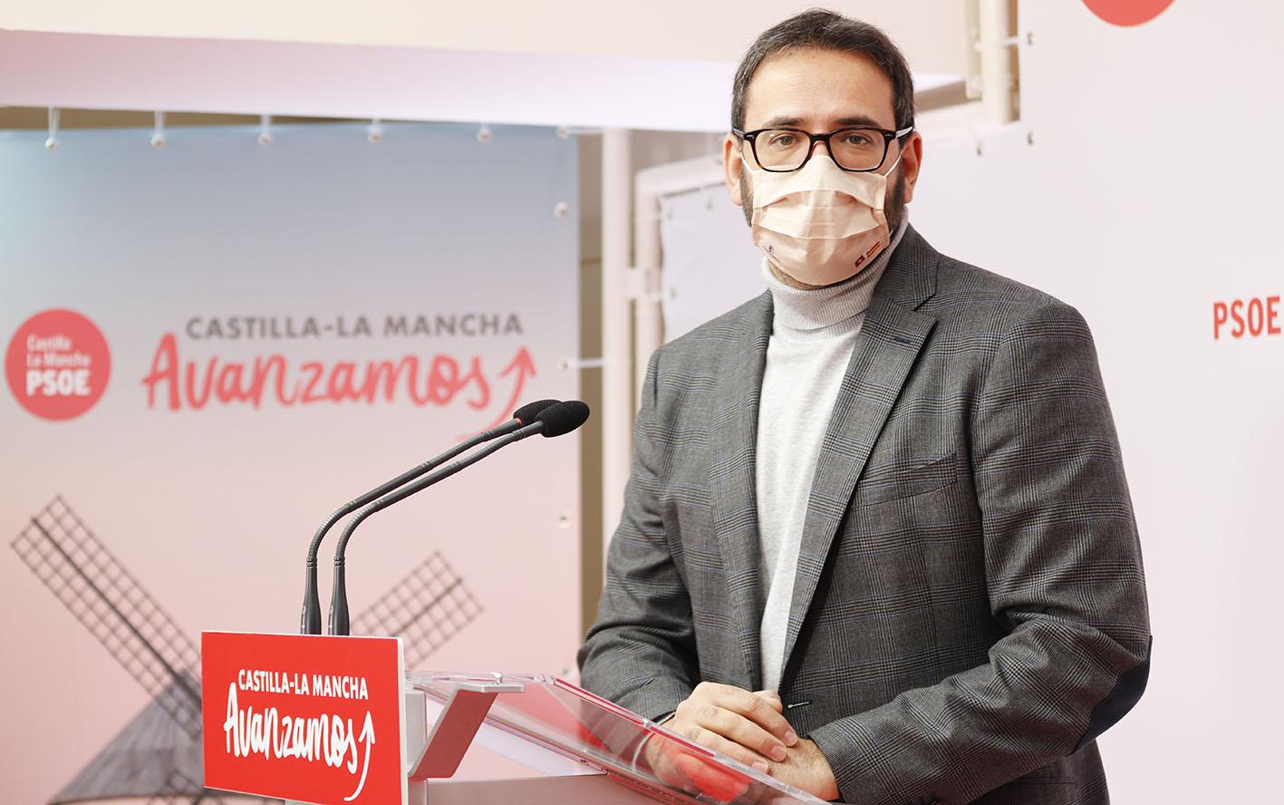 Sergio Gutiérrez ha pedido explicaciones a Paco Núñez tanto por el caso Bárcenas como por el de Dolores Rubio.