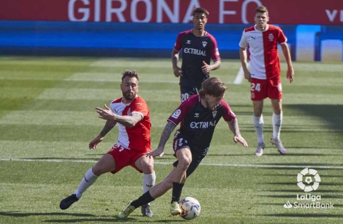 El Albacete sufrió la derrota más dura en Gerona