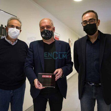 Antonio Arrogante, Unai Sordo y Paco de la Rosa. Foto: Rebeca Arango