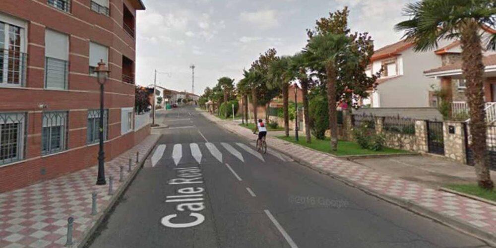 Calle Real, en Yunquera de Henares, donde un hombre empezó a atropellar a 7 personas
