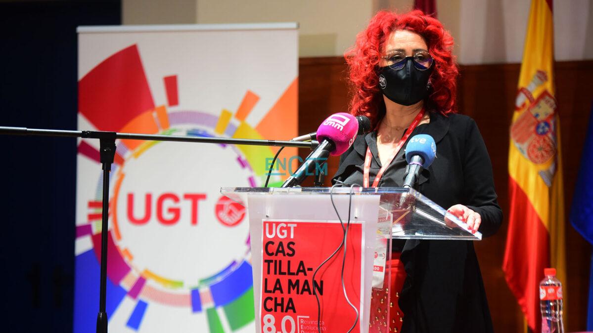 Olga Arribas, nueva secretaria general de UGT CLM.